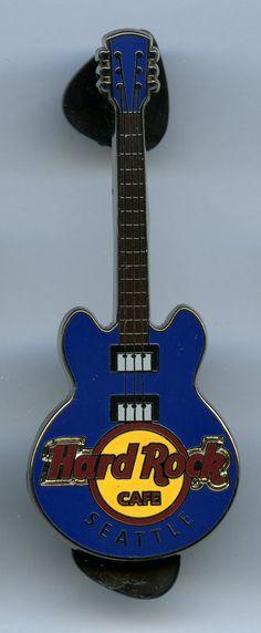 Seattle - Hard Rock Cafe Guitar Pin