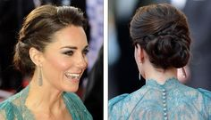 The Duchess of Cambridge's Chic Braided Updo