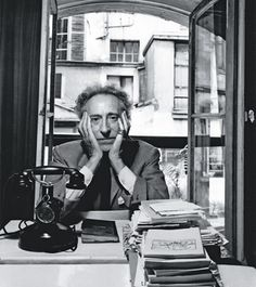 Jean Cocteau in Paris, 1961. Arnold Newman Collection/Getty Images.