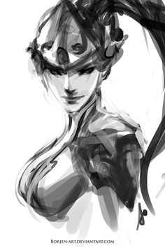 Widowmaker by borjen-art.deviantart.com on @DeviantArt