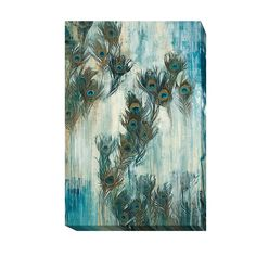 Proud as a Peacock by Liz Jardine Gallery-Wrapped Canvas Giclee Art