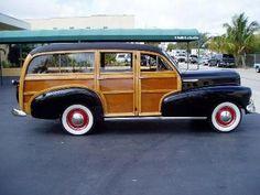 1948 Chevrolet WOODY IN Black,