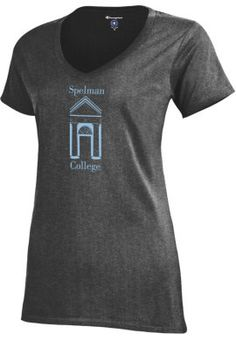 Spelman College Women's V-Neck Campus T-Shirt