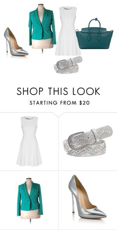 """""""Quick and Classy Professional Look"""" by reau1977 on Polyvore featuring True Decadence, BKE, Kasper, Casadei and Bally"""