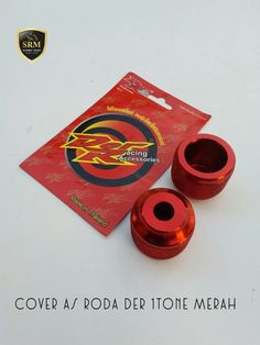 Cover as roda DER 1Tone Merah IDR 140.000,-/Set