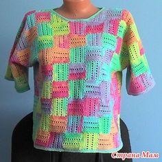 Crochet ideas that you'll love Black Crochet Dress, Crochet Jacket, Crochet Cardigan, Crochet Summer Tops, Knit Crochet, Filet Crochet, Crochet Designs, Crochet Patterns, Crochet Diagram