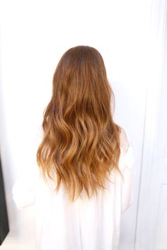 Natural red head with subtle ombre highlights hair color natural red hair with highlights pmusecretfo Images