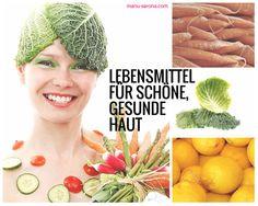 Iss dich #schön - 8 #Lebensmittel für schöne gesunde #Haut: http://manusarona.de/8-lebensmittel-fuer-schoene-gesunde-haut/