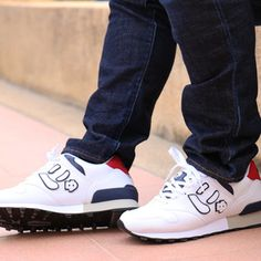 Looking for a new New Balance? Try these rare Nyu handmade sneakers from Japan Air Max Sneakers, Sneakers Nike, Nike Cortez, New Balance, Nike Air Max, Shoes, Fashion News, Products, Nike Tennis