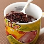 Instant Chocolate Cake In A Mug - Ready in 2 Minutes |