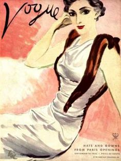Vintage Vogue magazine covers - mylusciouslife.com - Vintage Vogue covers13.jpg