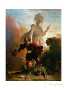 Alexandre Evariste Fragonard Don Juan et la statue du commandeur Strasbourg