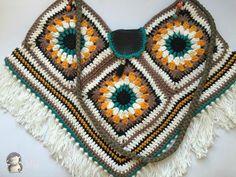 Bolso Boho Chic a Crochet, Tutorial | Aprender manualidades es facilisimo.com