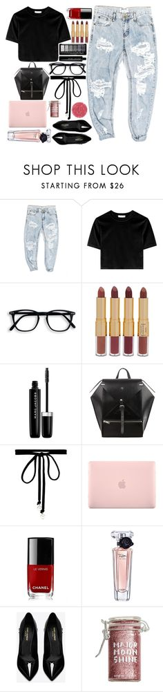 """""""Day out"""" by fangirl-preferences ❤ liked on Polyvore featuring OneTeaspoon, tarte, Marc Jacobs, Joomi Lim, Incase, Chanel, Lancôme, Yves Saint Laurent, Major Moonshine and StreetStyle"""