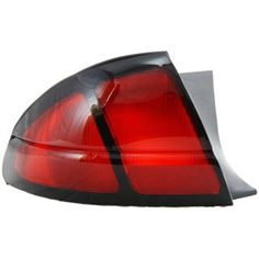 1995-2001 Chevrolet Lumina Tail Lamp LH, Lens And Housing, Base/ls Models