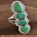 Southwest Turquoise Jewelry Sterling Silver Ring