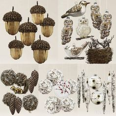 Woodland ornament set - Balsam Hill