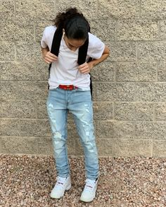 Cute Tomboy Outfits, Tomboyish Outfits, Cowgirl Style Outfits, Swag Outfits For Girls, Urban Style Outfits, Teenage Girl Outfits, Casual Fall Outfits, Girly Outfits, Simple Outfits