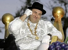 James Gandolfini Sopranos star crowned carnival King of Bacchus. Many other celebrities have reigned over Mardi Gras. Check out the link for inside look http://en.wikipedia.org/wiki/Krewe_of_Bacchus