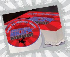 American Ninja Warriors Cake Topper