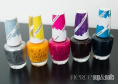OPI Color Paints Collection — Fierce Makeup and Nails