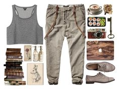 """Of Mice and Men"" by blurry-constellations-xx ❤ liked on Polyvore featuring Gap, Leica, Monki, Scotch & Soda and Pier 1 Imports"