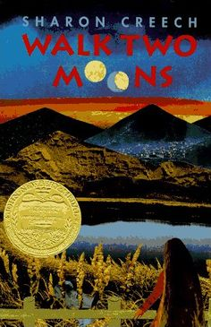 Walk Two Moons by Sharon Creech, I loved this book in middle school. Newbery Award, Newbery Medal, Walk Two Moons, 2 Moons, Sharon Creech, Friends Phoebe, Moon Book, American Library Association, Award Winning Books