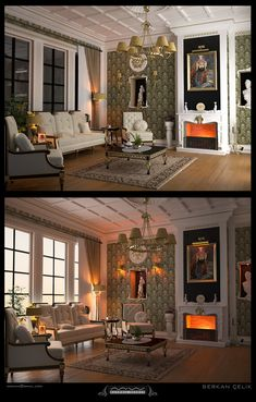 Victorian and Classic Interior Decor Design Ideas Best Living Room Design, Design Your Home, Interior Design Living Room, Living Room Designs, House Design, Interior Paint, Living Rooms, Interior Design Software, Interior Design Advice