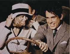 Faye Dunaway and Warren Beatty in Bonnie and Clyde