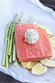 This recipe sounds difficult, but it's probably the easiest way to prepare fish!