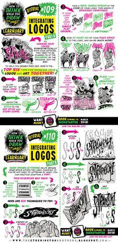 How to draw INTEGRATED LOGOS tutorial by STUDIOBLINKTWICE.deviantart.com on @DeviantArt
