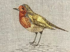 Bead Embroidery Patterns, Bird Embroidery, Beaded Embroidery, Gold Work, Embroidery Techniques, Pearl Color, Bridesmaid Jewelry, Fashion Bracelets, Fiber Art