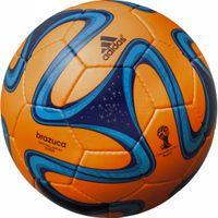サッカーボール 5号球 2014 FIFA ワールドカップ ブラジル大会 ブラズーカ グライダー (オレンジ)