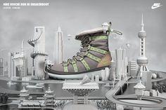 NIKE Sneakerboots on Behance