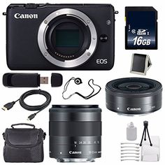 Canon EOS M10 Mirrorless Digital Camera Body Only (Black) (International Model No Warranty) + 16GB SDHC Class 10 Memory Card 6AVE Bundle 39  http://www.discountbazaaronline.com/2016/04/20/canon-eos-m10-mirrorless-digital-camera-body-only-black-international-model-no-warranty-16gb-sdhc-class-10-memory-card-6ave-bundle-39/
