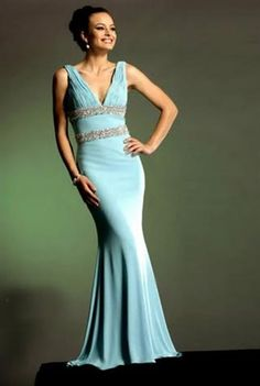 Baby blue mother of the bride dress??? Mom loves Tiffany