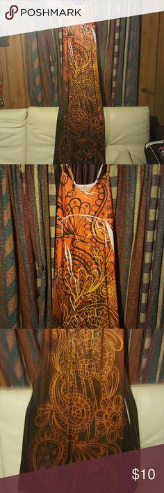 Nice sundress szxl Very long sundress, very comfortable a nd breezy. Dresses Maxi