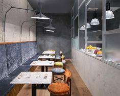 Naturale, puro, sano: parliamo di cibo o di Lindura?   Skema  Lindura flooring in the veg restaurant BotanicaLab