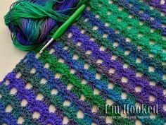 Crochet Dew Drop Wrap