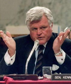 Edward Kennedy. Survived a plane crash and a car crash that killed the other passenger!