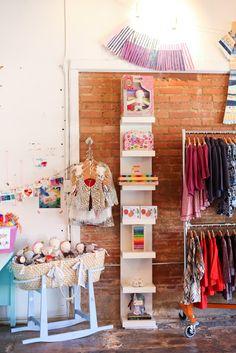 Little Bean Shop. love the display