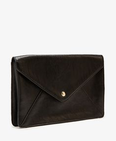 Faux Leather Envelope Clutch | FOREVER21 - $12.80