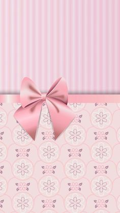 Bow Wallpaper, Colorful Wallpaper, Wallpaper Backgrounds, Iphone Wallpaper, Pink Love, Gift Wrapping, Bows, Scrapbook, Stud Earrings