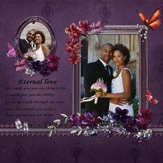 Wedding Scrapbook Sample - found by: http://weddingscrapbookideas.net/ #seemoreweddingideas
