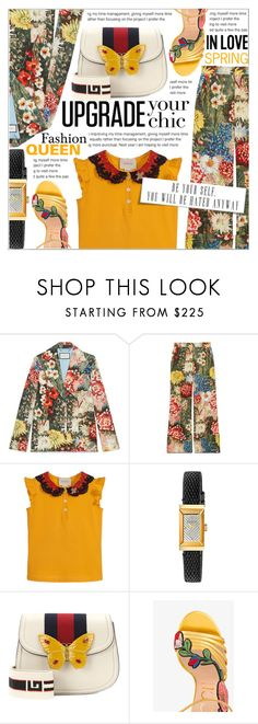 """Upgrade your chic"" by celine-diaz-1 ❤ liked on Polyvore featuring Gucci"