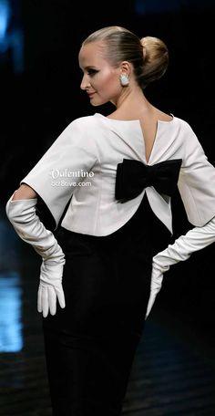 Farewell Valentino Collection - Black and White, So Chic