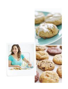 Sweet Paul Magazine - lemon pepper cookies with lemon glaze