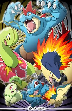 Pokemon 2nd Generation by Nicolette Ray *
