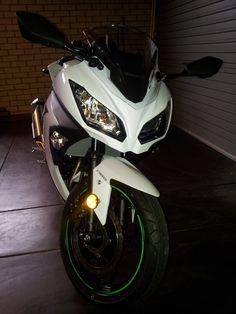 Kawasaki Ninja 300 ABS White