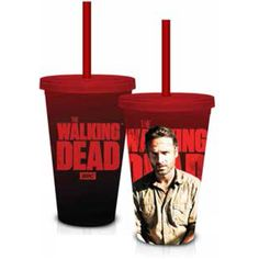 Walking Dead Grimes Red 18 oz. Carnival Cup